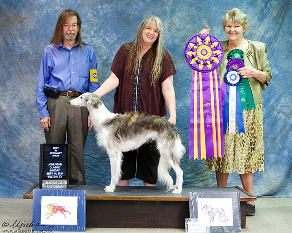 Squee wins Best in Specialty Show!
