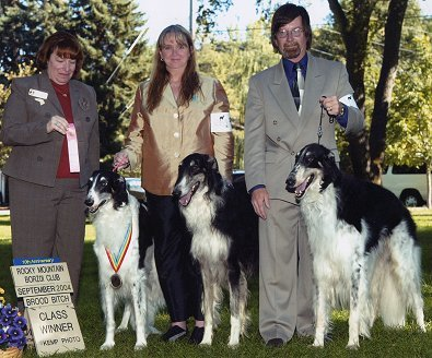 Texas borzoi breeders RLynn and Victor